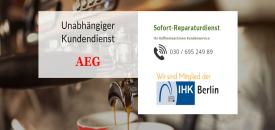 AEG Kaffeemaschinen Reparatur