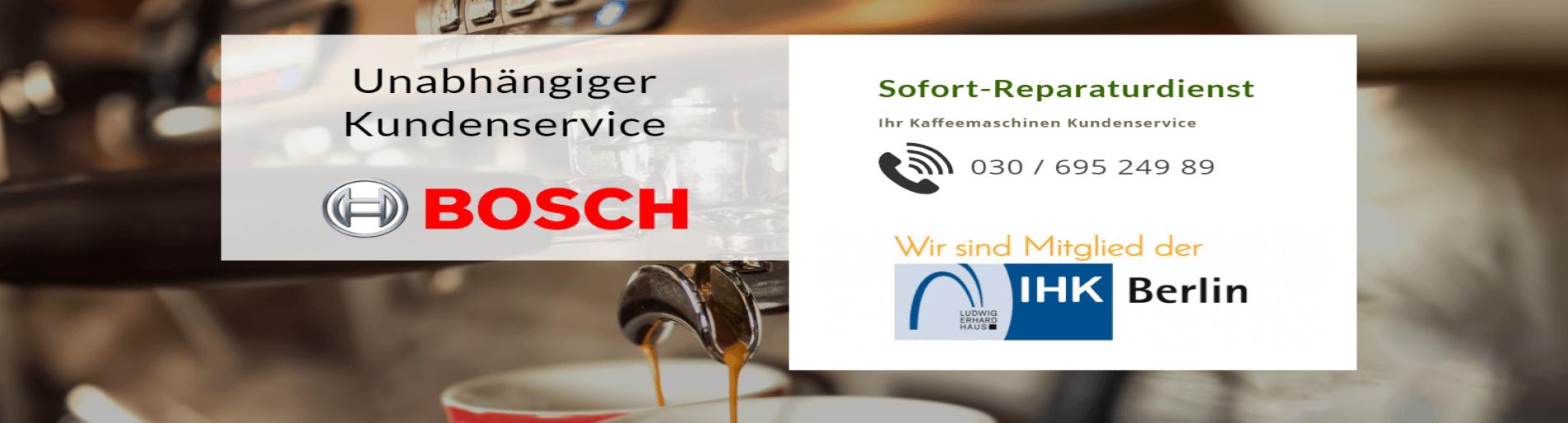 Bosch Kaffeemaschinen Reparatur
