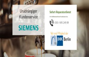 Siemens Kaffeemaschinen Reparatur